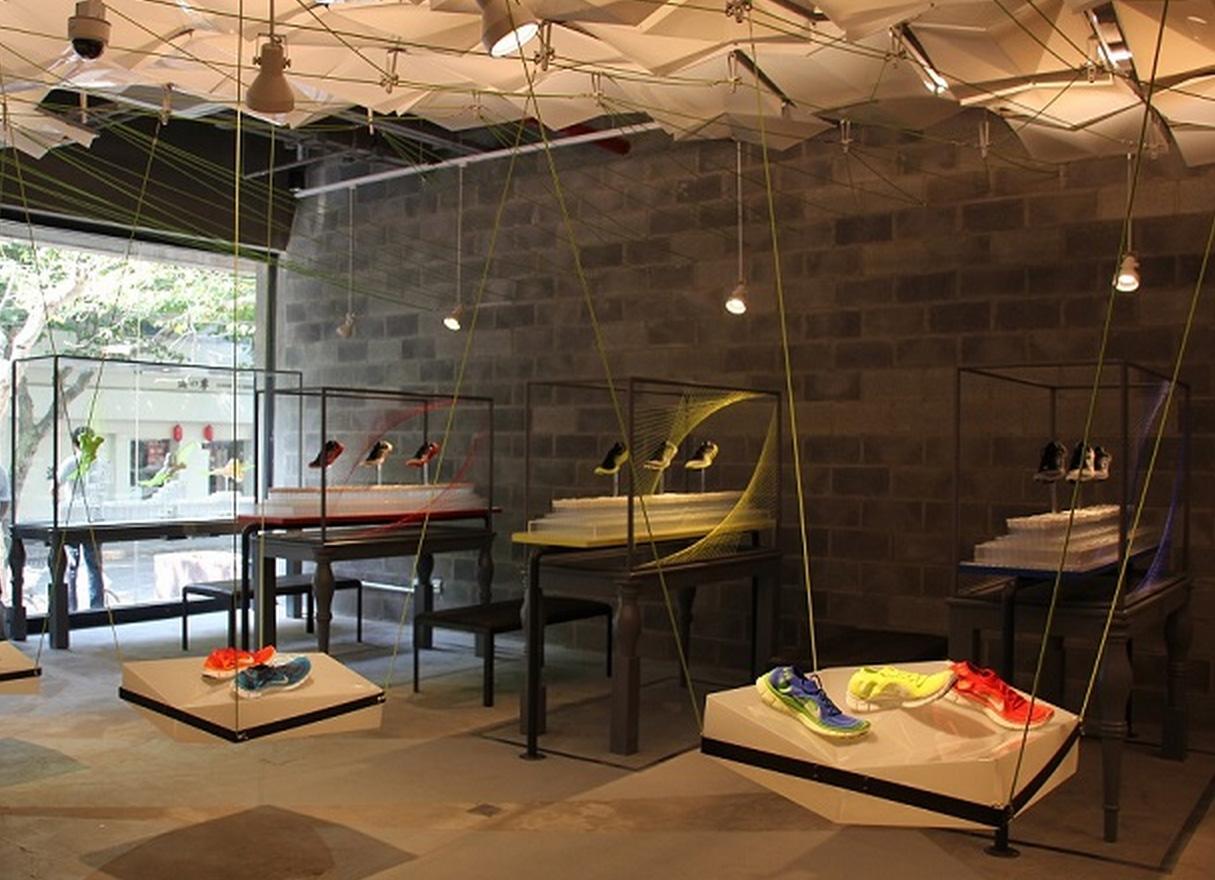 Concept store sarah tone for Interior designs materials